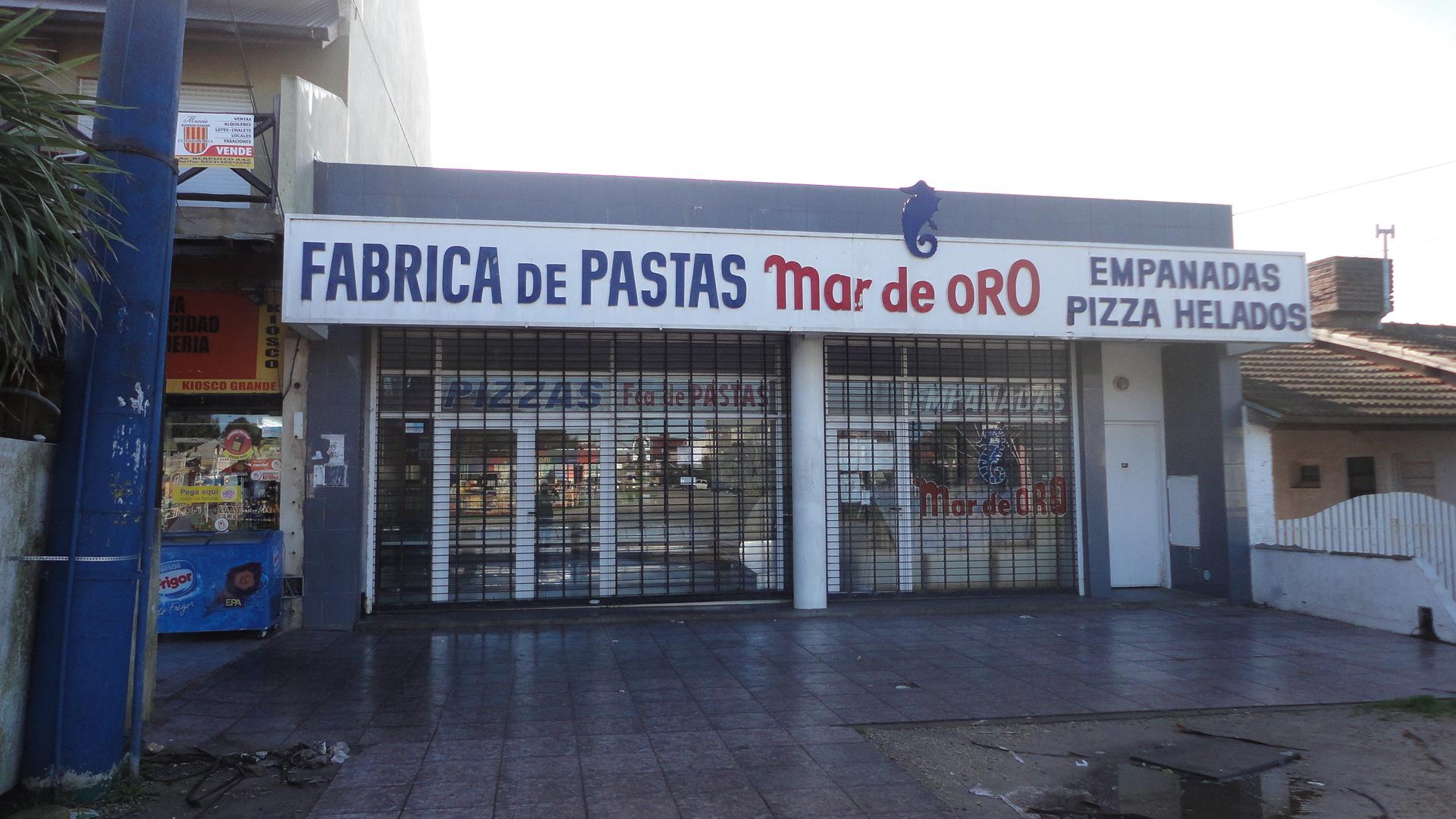 """Fábrica de pastas """"Mar de Oro"""""""