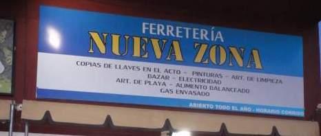 Nueva Zona Ferretería