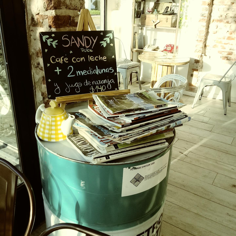 Sandy  Cafe y Helados