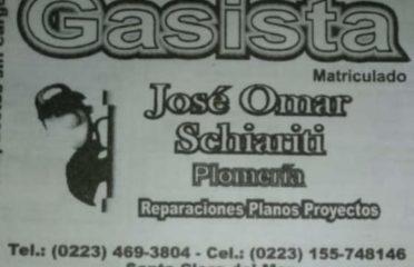 José Omar Schiariti Gasista Matriculado