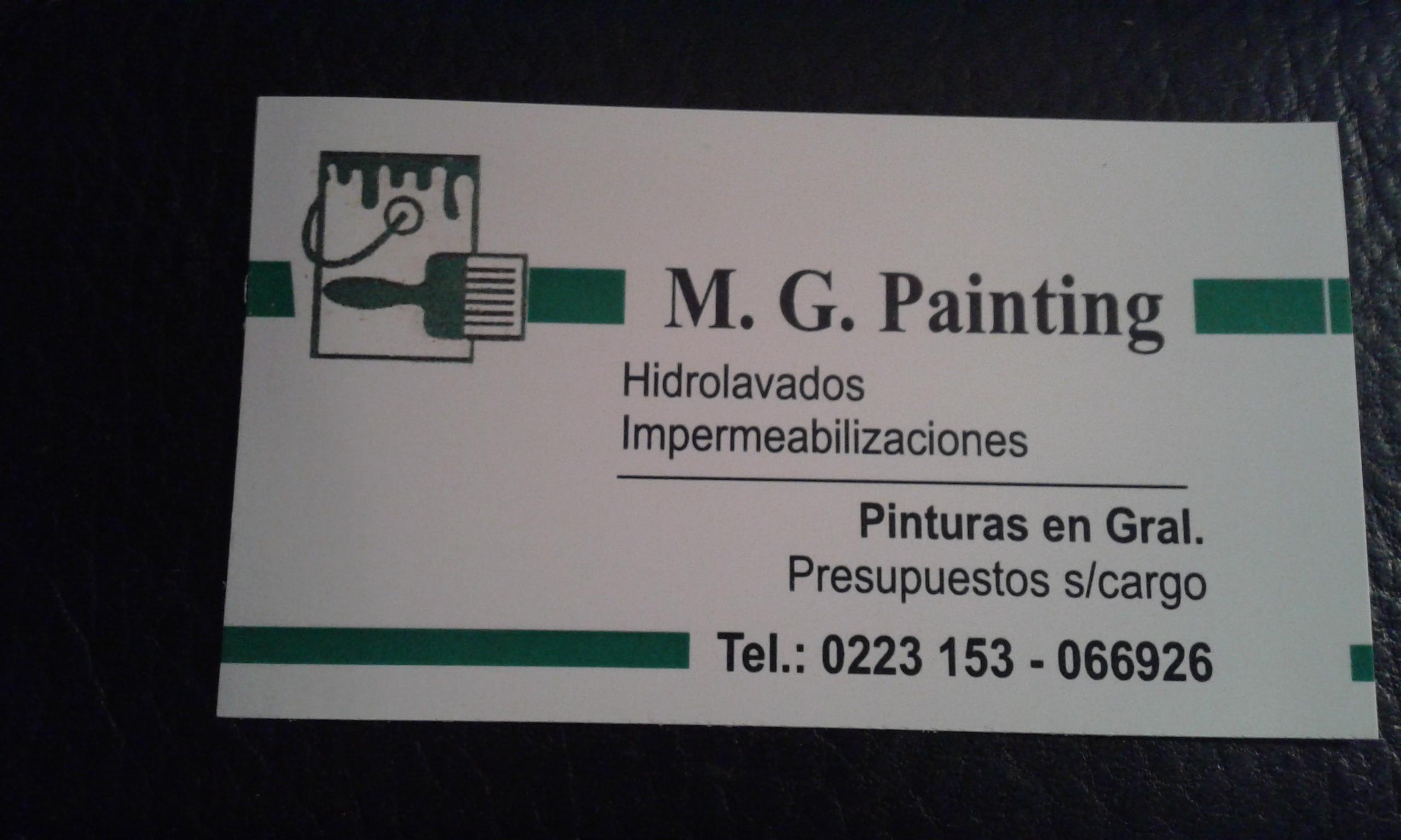 M.G. PAINTING