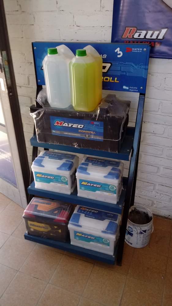 Raúl – Baterías