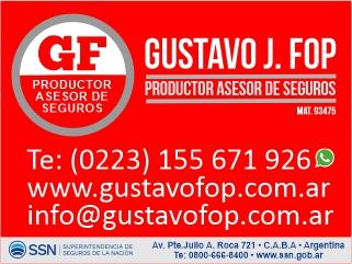 Gustavo Fop Productor Asesor de Seguros