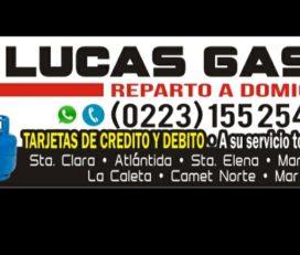 Lucas Gas Garrafas y Cilindros 45Kg