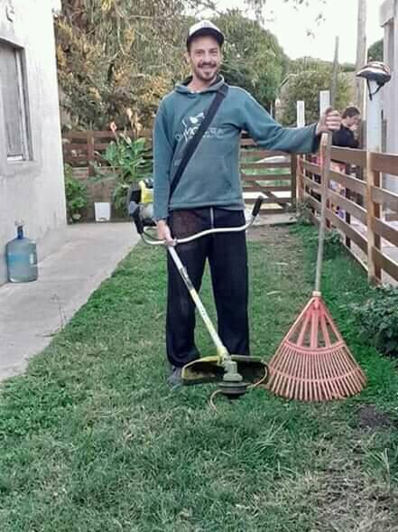 Jardinero Deivid Bikenson