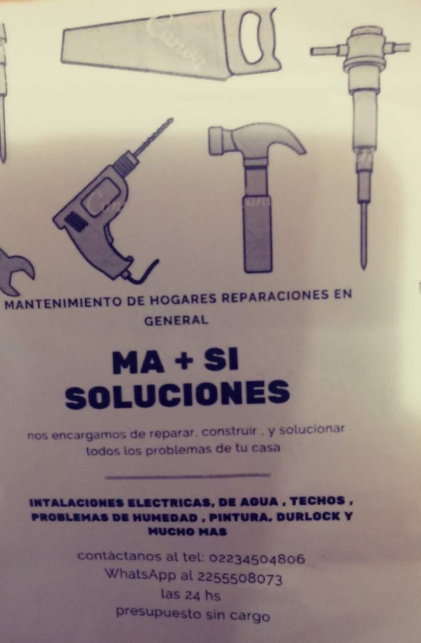Ma + Si   Soluciones