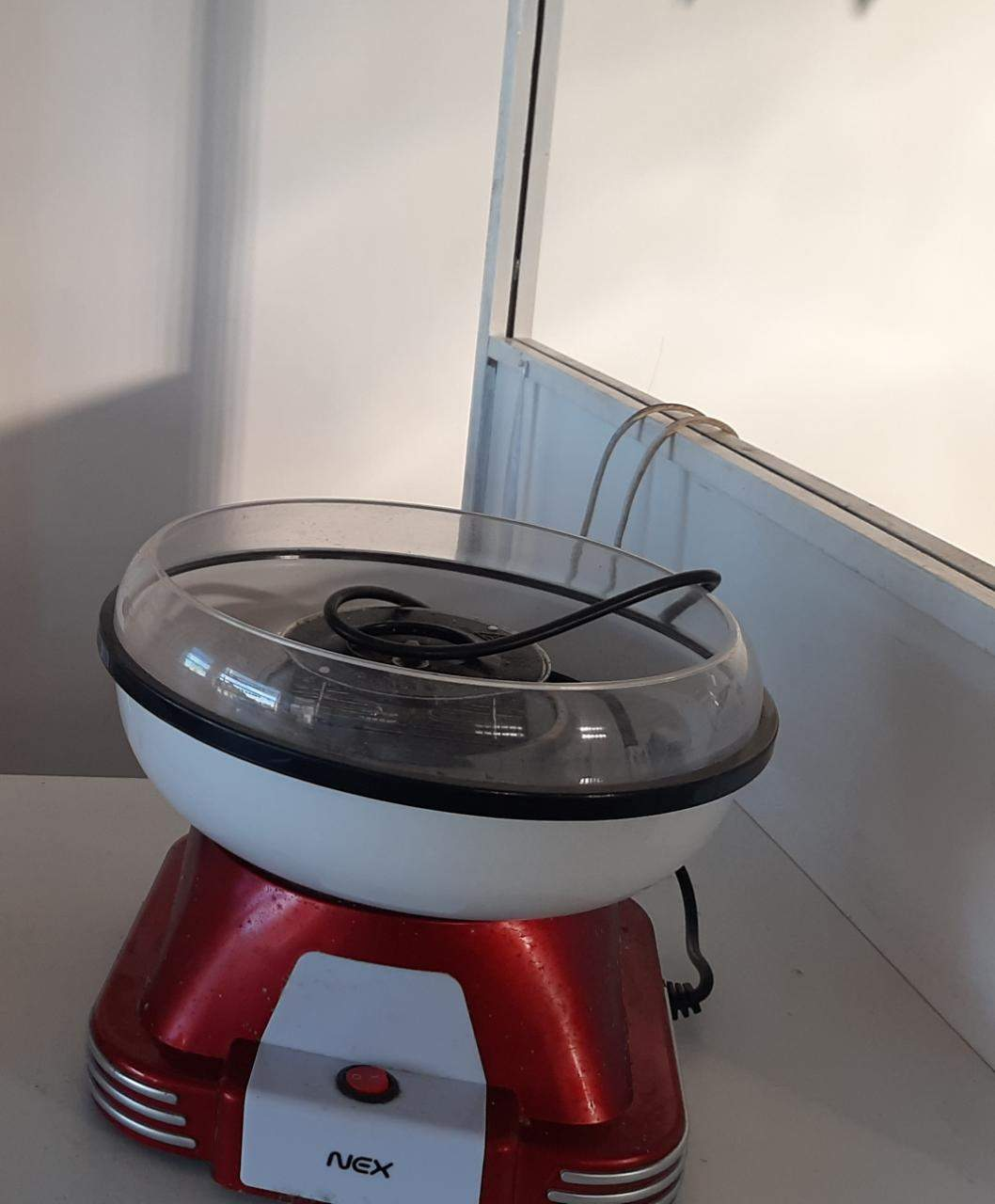 Máquina para hacer copos de azúcar marca Nex Usada